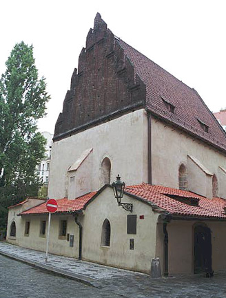 PRAGUE - OLD-NEW SYNAGOGUE - OLDEST SYNAGOGUE IN EUROPE STILL IN USE.jpg