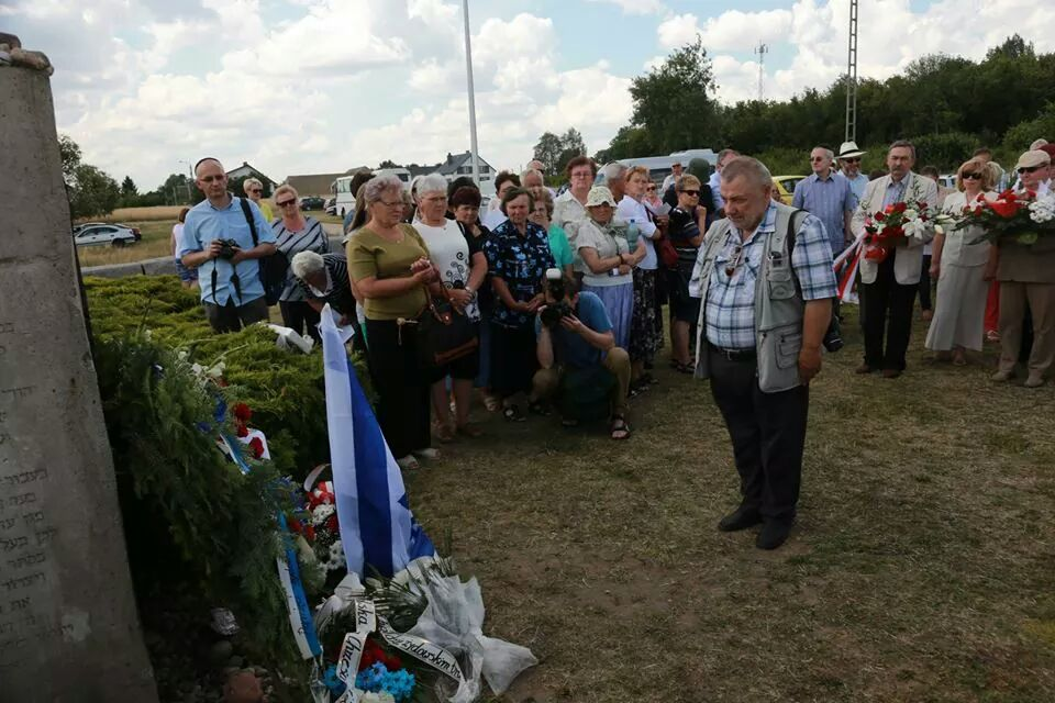 Jedwabne memorial dedication.jpg